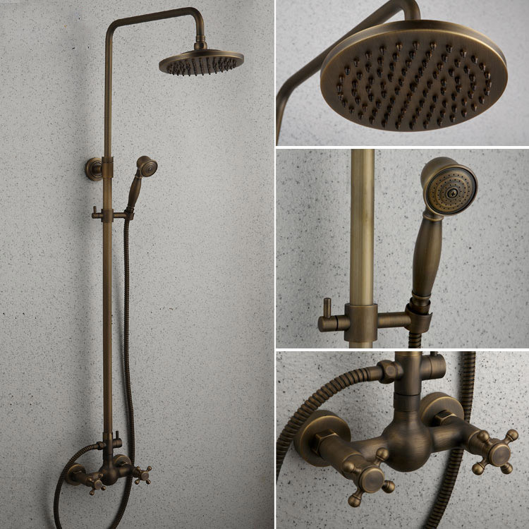 pollock whole european antique copper hot and cold shower thermostatic bath hot and cold shower mixer valves buy