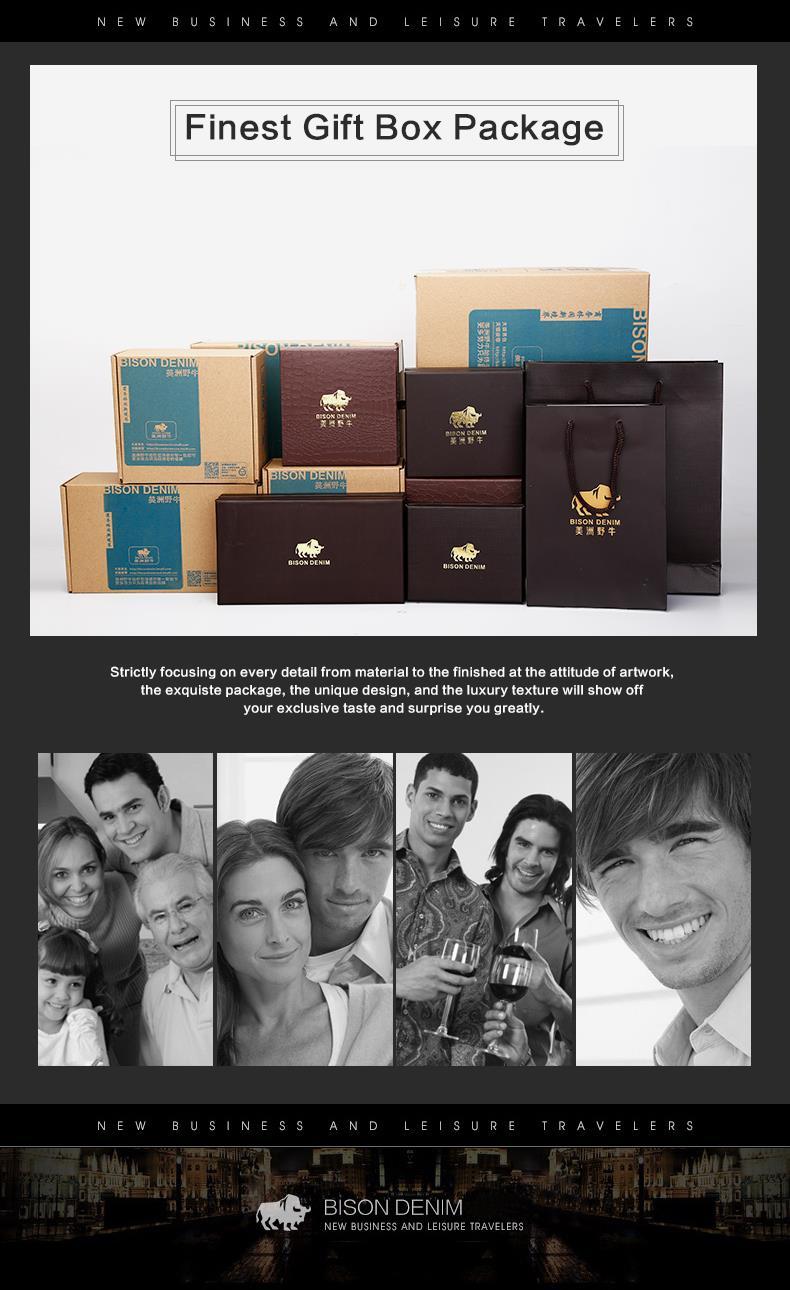 БИЗОН DENIM 100% лучших людей Неподдельной Кожи iPad Tabelt Коускин Сумка Дизайнер crossbody сумка Мужчин Мешки Посыльного для подарка