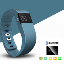 TK02 Bluetooth4.0 Fit Bit Activity Tracker Smart Band Wristband Pulsera Inteligente Bracelet for IOS&Android Better Than TW64