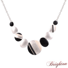 fashion necklaces for women 2015 trendy zinc alloy chokers silver chain statement necklaces pendants in Jewelry