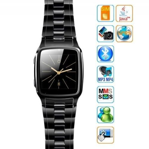 """Bluetooth Smart Watch Cell Phone TW810 Quad Band Camera GPRS Java 1.54"""" Touch Screen Smart Watch mobile phone wristwatches(China (Mainland))"""