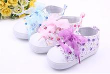 2015 brand New Baby Shoes Prewalker Print Lace Girls Toddlers moccasins bebes infantis sapatos First Walkers Newborn (China (Mainland))