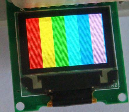 Free Shipping! 1pc 0.95 inch 96x64 color oled module(China (Mainland))