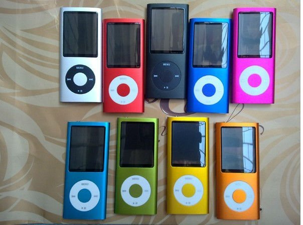 New 4GB The 5th mp4 Player,mp4/mp5 Touch player +Camera+FM