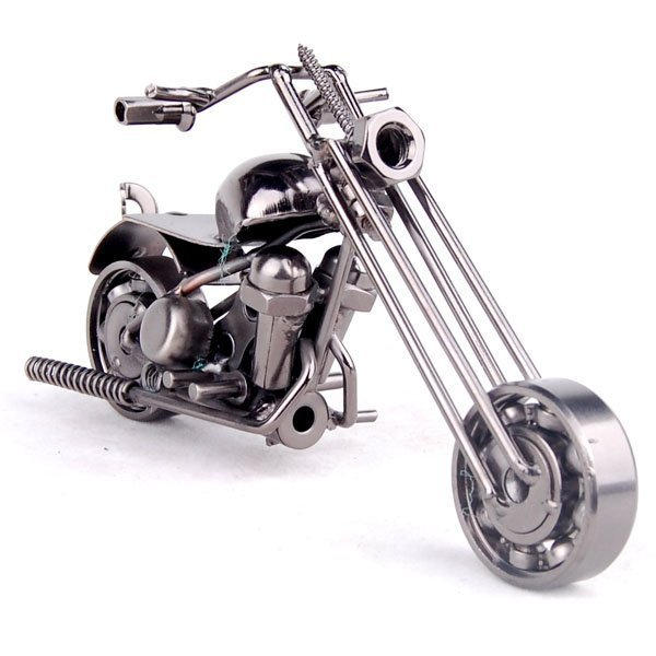 logo printing Novelty Mettle metal crafts classic motorcycle models M39