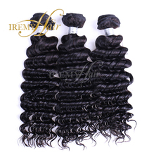Brazilian curly virgin hair with closure 3 4 pcs human hair weft with lace closure Unprocessed