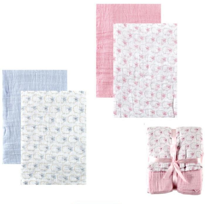 Детская купальная простынка Luvable Friend 2/luvable 100% 117cmX117cm 50438 Baby Blanket Newborn