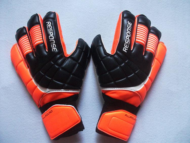 2015 Top Latex Bola De Futebol Gloves Football With Fingerstall Professional Game Soccer Goalkeeper Gloves Guantes De Portero(China (Mainland))