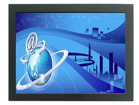 19'' Open Frame Touch For inch Metal Wall Mount Touch Monitor Industrial 5-wire resistive touch monitor(China (Mainland))