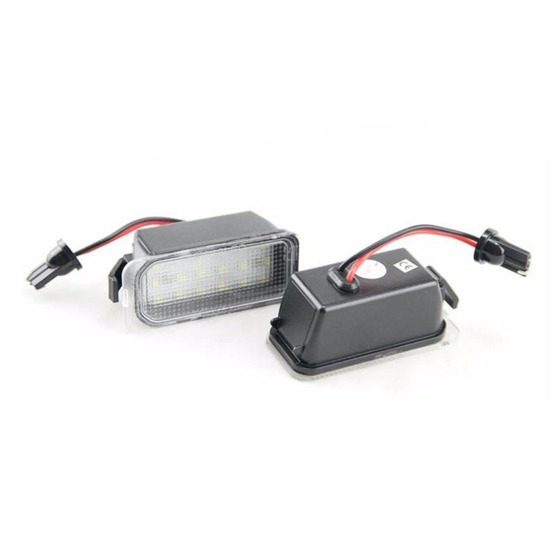 License Plate Lamp Lights For Ford Fiesta S-MAX C-MAX Kuga Mondeo Galaxy Jaguar-2