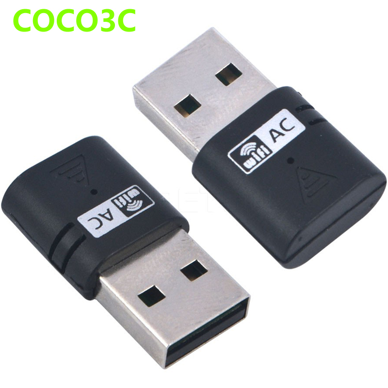 Dual Band AC 600Mbps USB WiFi Dongles 2.4Ghz 5Ghz AC600 Wireless-N Network Adaptor USB2.0 Wireless Gigabite Speed Dongle(China (Mainland))