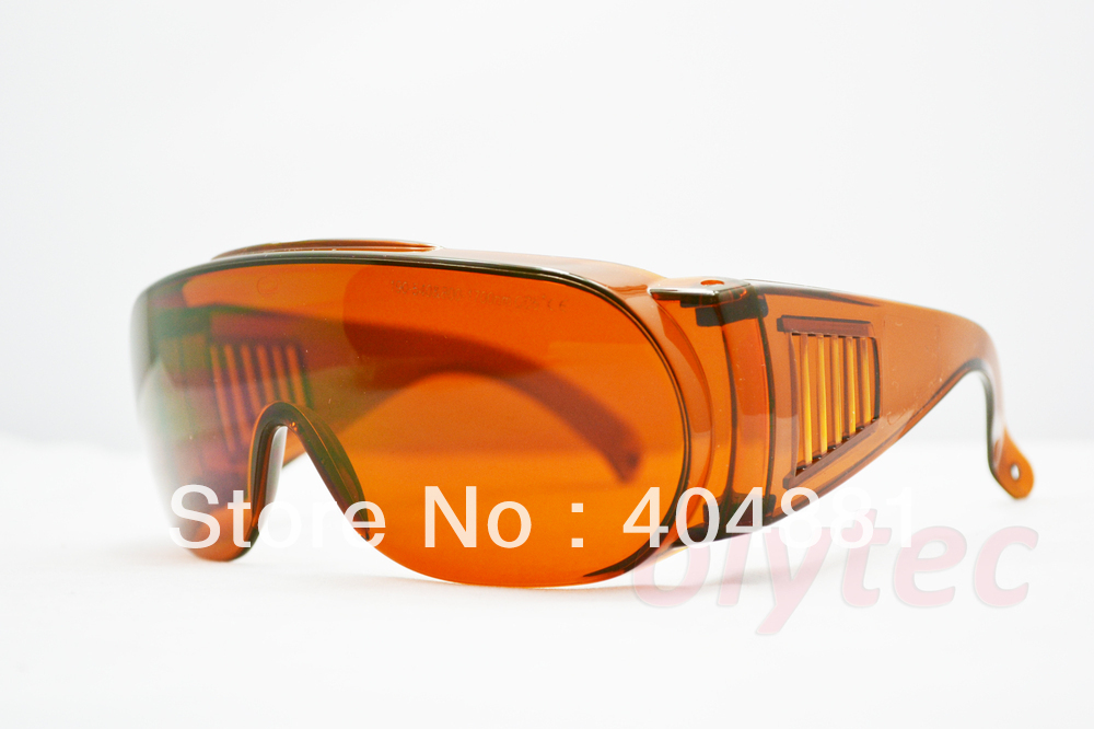 2013 New 190-540nm & 800-1700nm O.D 5+ laser safety glasses,goggle fit over prescription eyewear