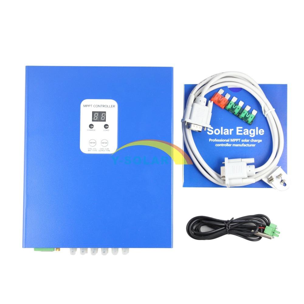 25A MPPT Solar Charge Controller 12V 24V 48V LCD PC Communication Solar Panel Battery Charger Solar charge Regulator Esmart-25A(China (Mainland))