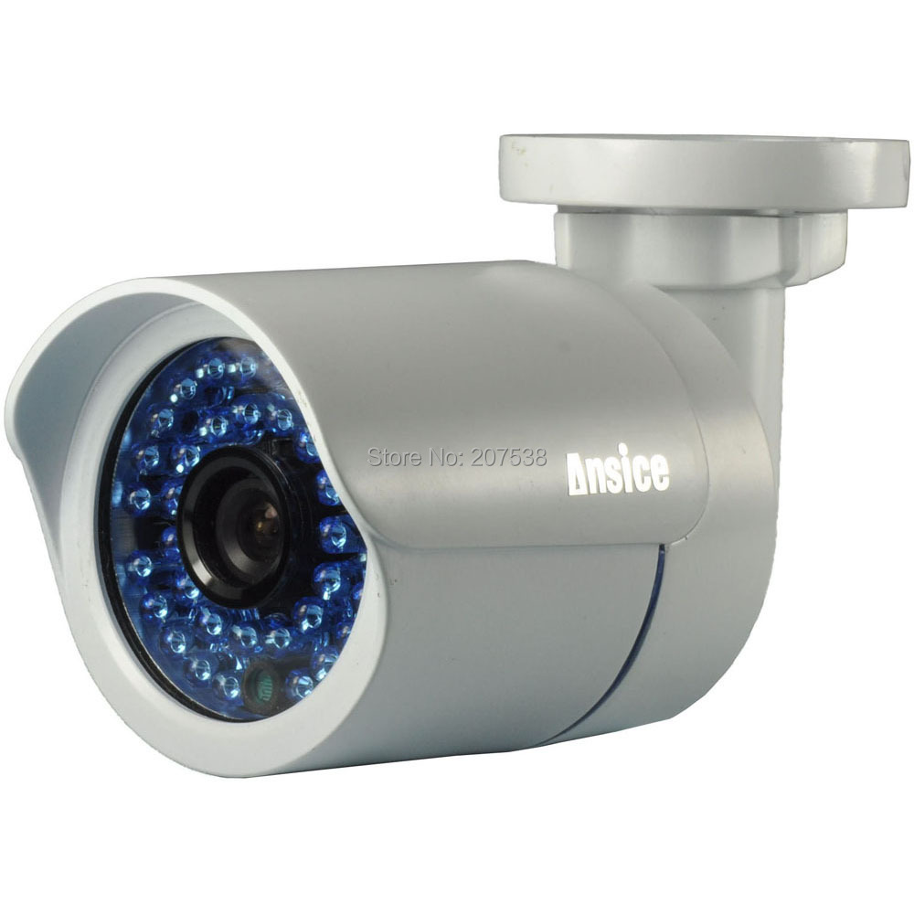 --2.8mm lens wide angle 700TVL 1/3 inchSONY EFFIO-E CCD infrared 36LED CCTV camera outdoor Night Vision - ansice-cctv store