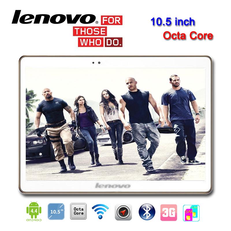 Планшетный ПК Lenovo 10,5 3G Octa 1280 X 800 2G 16G Tablet PC GSM WCDMA 10 8 10.1