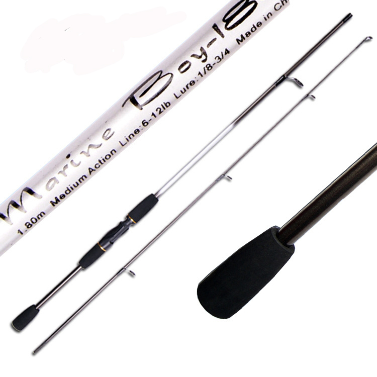 1.8M FRP Medium Action Spinning Fishing Rods Glass Steel Fishing Rods Lure Fishing Rods Fishing Supplies(China (Mainland))