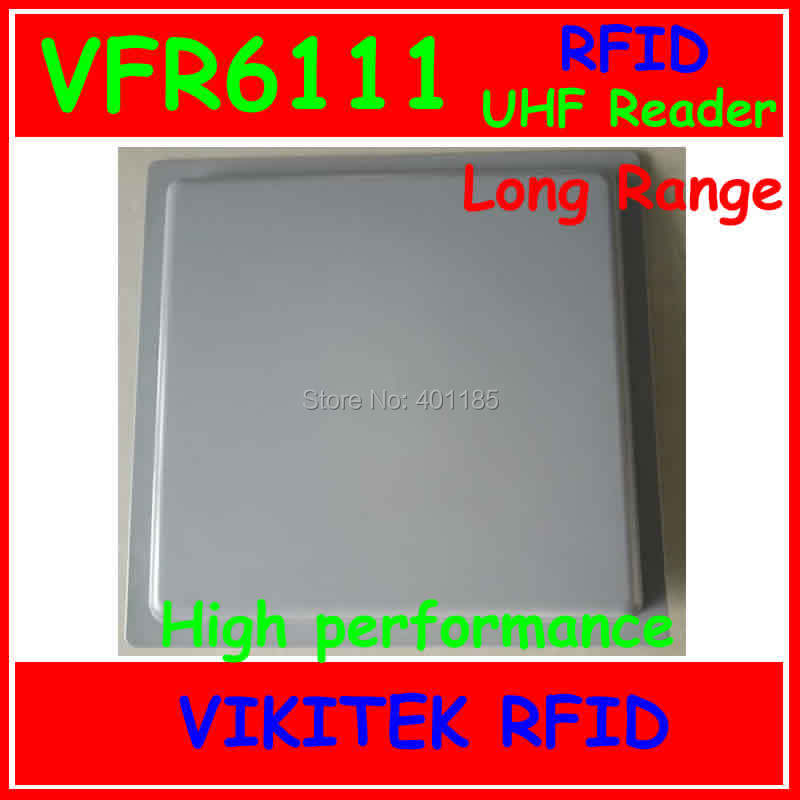 VIKITEK VFR6111 UHF RFID reader long range (more than 12m) Integrated Reader can be used in warehouse and Access control(China (Mainland))