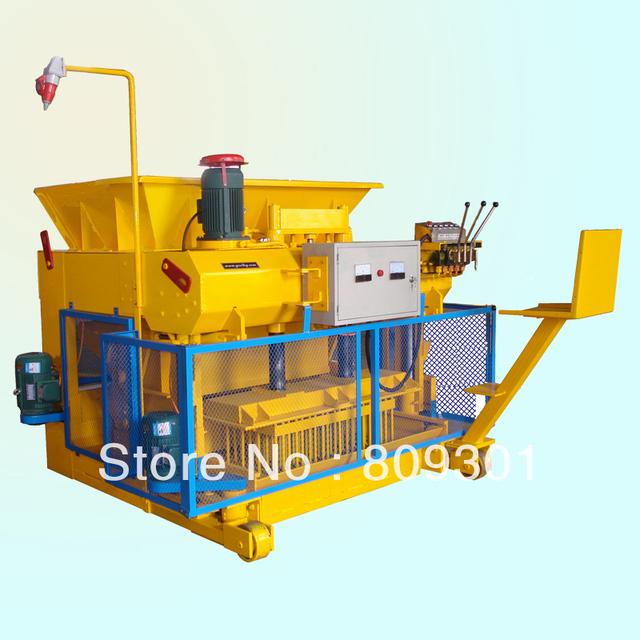 QMY6-25 mobile hydraulic concrete brick machine price