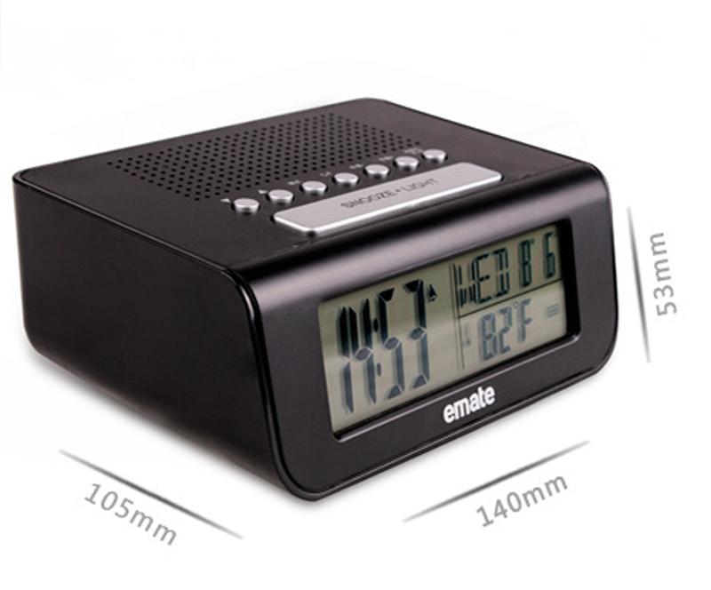 online cheap alarm clock radio alarm clocks digital alarm. Black Bedroom Furniture Sets. Home Design Ideas