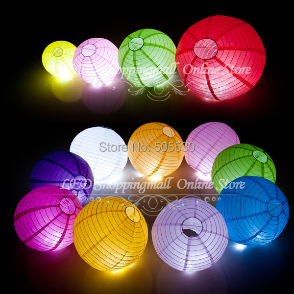 "10pcs/lot Chinese paper lantern lamps round wedding paper lantern 20cm (8"" ) freeshipping(China (Mainland))"