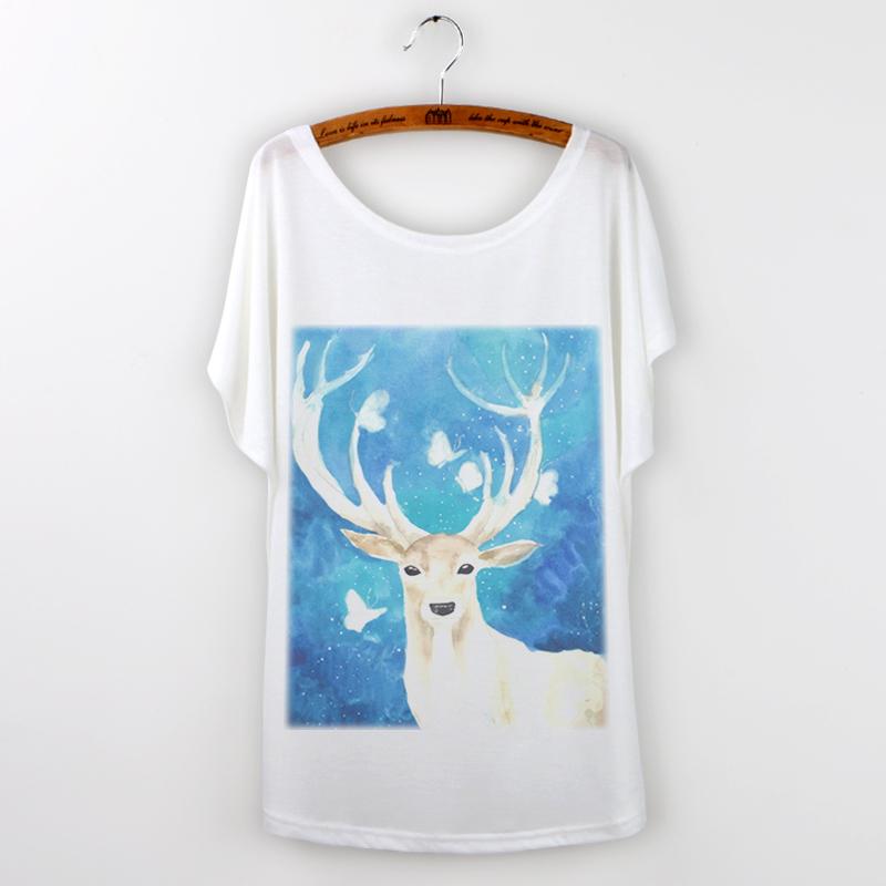 Тоторо tshirt 2015 свободного покроя т женщин графические футболку роковой животное панда печать batwing рукавом о-образным вырезом camisetas mujer