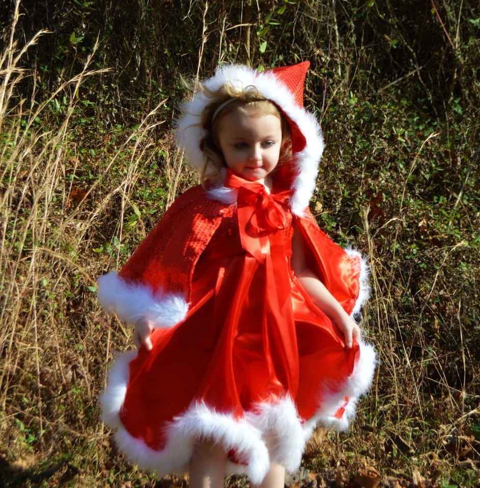 In Stock!2015 Baby Girl Christmas dress,kid girl red sequin dress + hoodie cape,Children Xmas dress set,girls party dresses 1-6T(China (Mainland))
