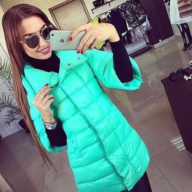 Пальто плотное, зима женщины широкий талией 4xl 5xl 6xl половина рукав плетение карманы заплатка дизайн пуговица молния