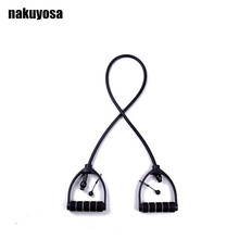 Buy 120cm Yoga Pull Rope Fitness Resistance Bands Exercise Tubes Practical Training Elastic Workout Cordages (Rope Diameter 6*10MM) for $7.64 in AliExpress store
