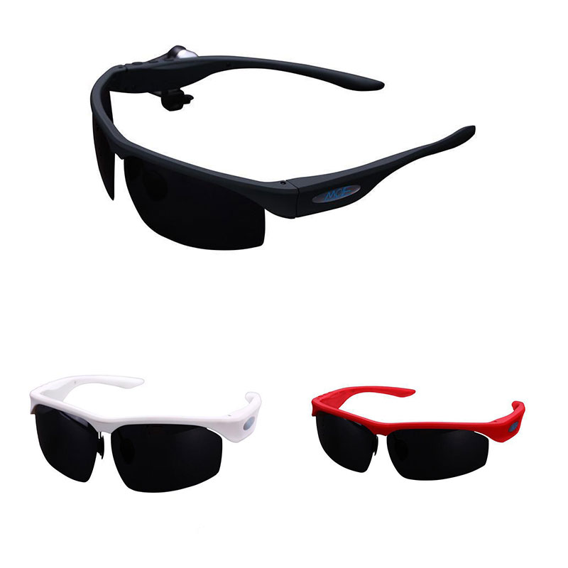 Free shipping! Smart bluetooth V3.0+EDR  sunglasses support free call  MP3 stere