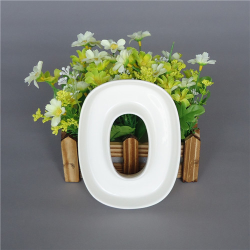 LOVE Ceramic letter candy dishes for candy table wedding candy bar ideas baby shower wedding decoration