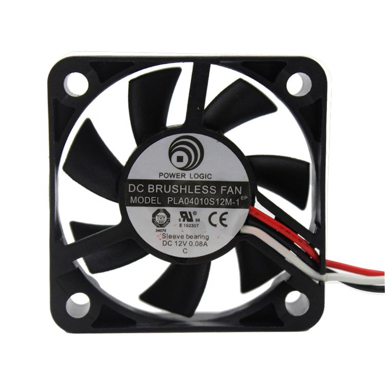 10Pcs Black 3Pin 12V 4010 4cm 40mm Brushless DC Fan PC Cooling Cooler Fan(China (Mainland))