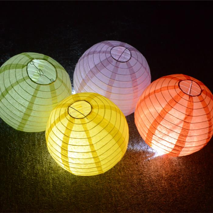 Free Shipping 10pcs/Lot 8''(20cm) Wedding lantern Decoration Chinese Paper Lantern Lamp Festival&Wedding Party Decoration(China (Mainland))