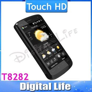 Touch HD Original Cell Phone Windows HTC T8282/T8288 GPS 3G Wifi 5MP Camera Wholesale(3pcs/lot)