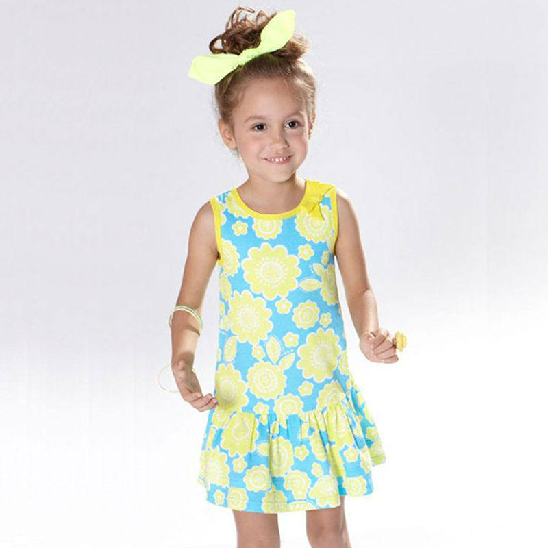 buy 2016 new sales discount baby girl casual dress cotton