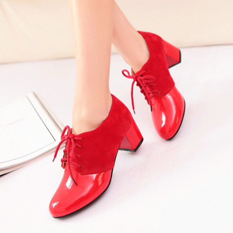 W1-MSL-2136-1 Special Offer Women On Sale 2015 Spring New Style Large Size Ankle Boots Ladies Fashion Casual High Heel Shoes