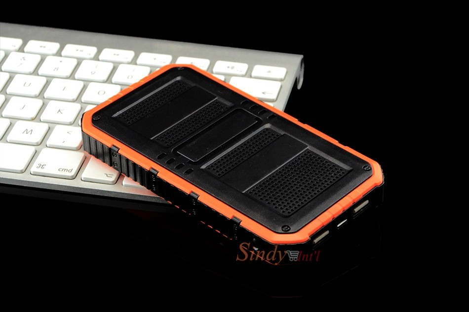 6sindy solar charger usb power bank