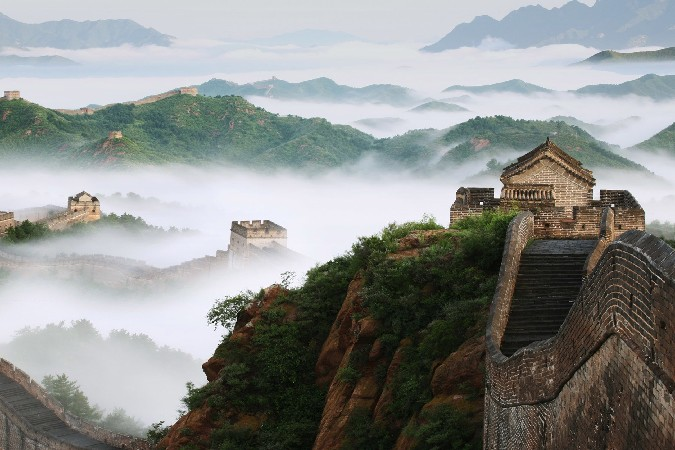 Great Wall China Scenery Poster Home Decoration Printing Silk -Picture Print - Fabric & Canvas Store store
