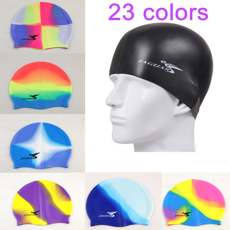 2016 Professional High Quality Silicone Swim Cap Waterproof Protect Ears Long Hair Men Women Adult Hat Sport Pool Cup Free Size(China (Mainland))