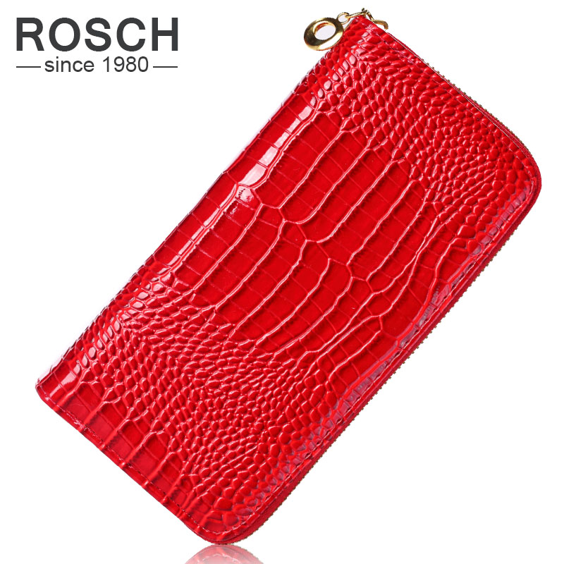 2016 European and American style Women's Fashion Brand Purse Business Luxury Quality Long Women Wallet Lady Purse Pink Black Red(China (Mainland))
