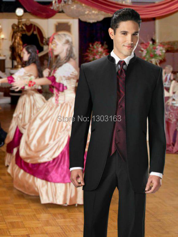 2014 Hot sale Suits Groom Tuxedos Best man Suit Wedding Groomsman/Men Suits Bridegroom (Jacket+Pants+Tie+Vest) 4 pieces