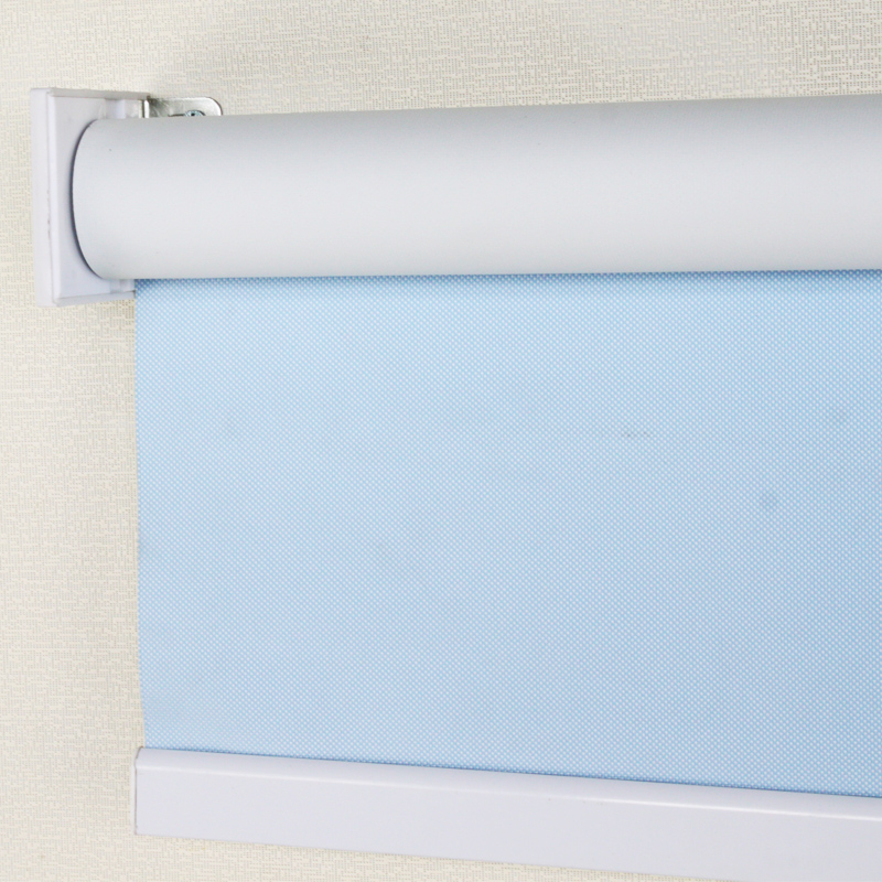 Waterproof full blackout roller blinds fabric curtains custom office bathroom electric shutter(China (Mainland))
