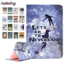 New Stained Case for Ipad Air 2 Book Cover Stained Cover Funda for Ipad Air 2 PU Leather Case for Ipad Air 2 7.9 Capa Cover Case(China (Mainland))