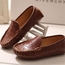 2015 Autumn loafers Rubber soles Children Shoes Leather Sneakers Boys&Girls Kids Shoes(China (Mainland))