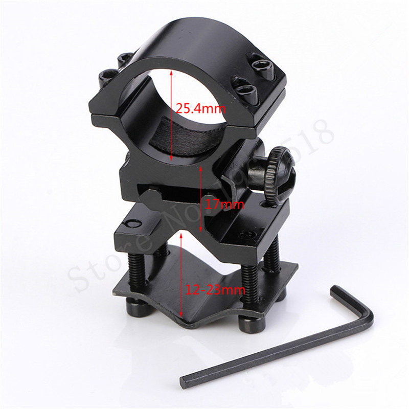 Tactical scope mount universal dovetail rail clamp Pipe Clamp Laser Sight bracket butterfly clip composition pipe clamps K185(China (Mainland))