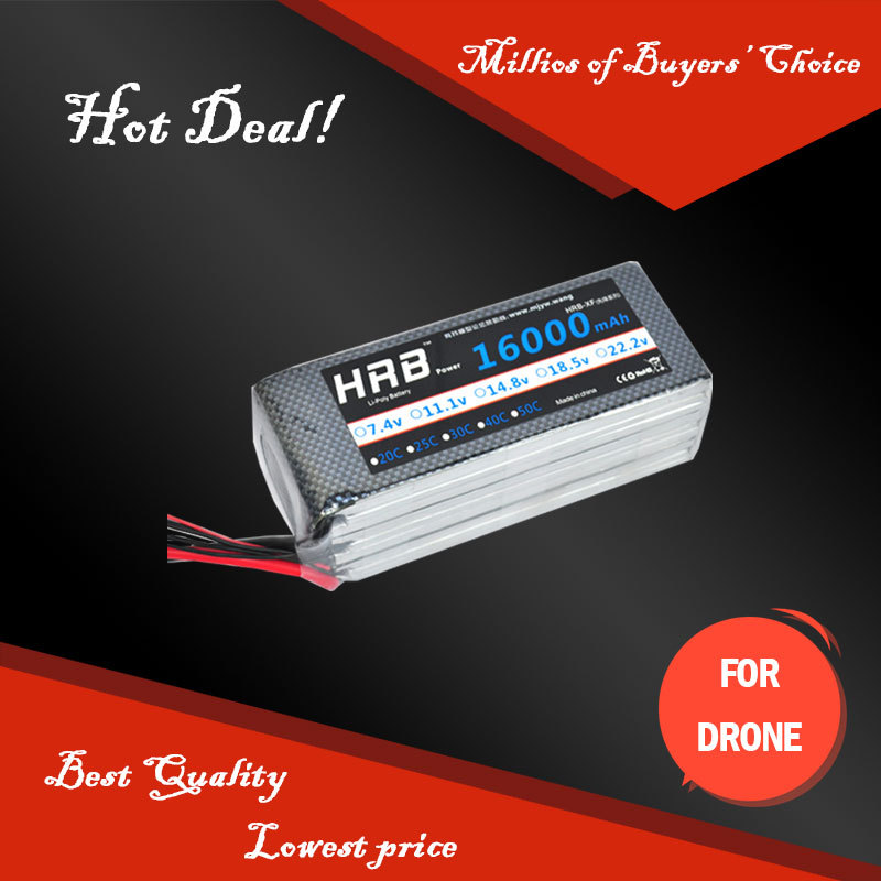 HRB Rechargeable battery Original DJI Mini Drone Spy LIPO 22.2V 6S 16000mAh 25C For DJI Spreading Wings S1000 evo multicopter<br><br>Aliexpress