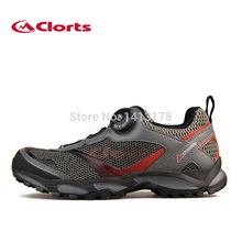 Clorts Men 2015 Best Trail Running Shoes With BOA Lightweight Athletic Sports Outdoor Shoes Waling Shoes TRUN-35B