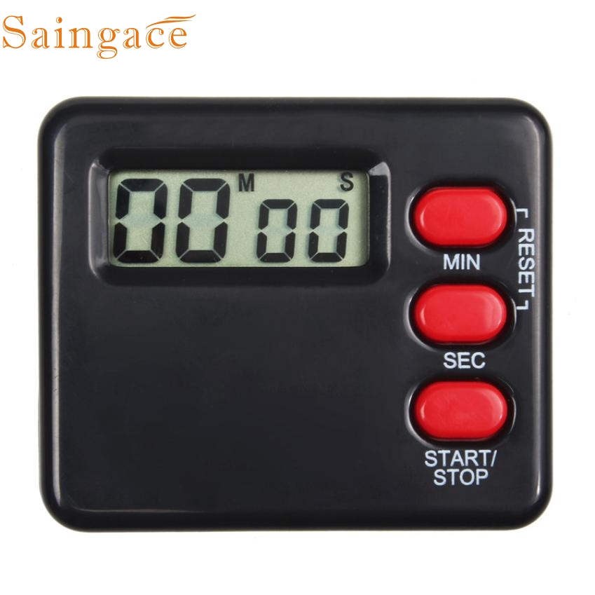 My House New Kitchen Clock Timer Black Cooking 99 Minute Digital LCD Sport Countdown Calculator Free Shipping Apr1(China (Mainland))