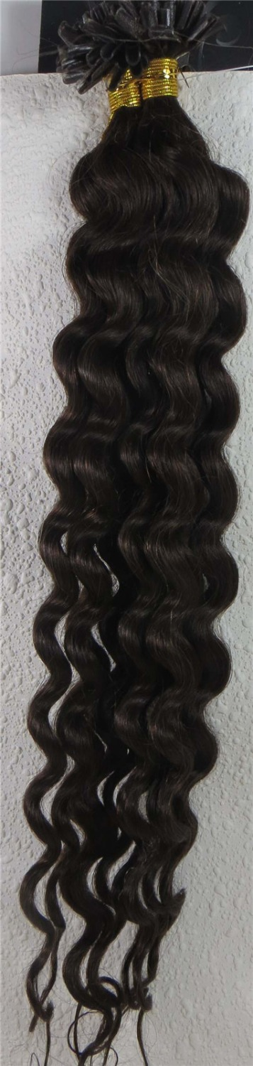 U Tip Hair Extensions Curly Prices Of Remy Hair