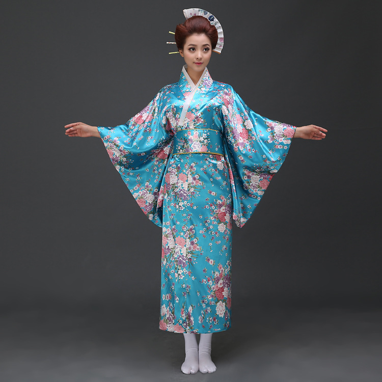 Japan Women Dress : Popular Blue Japan Women Dress Picture ...