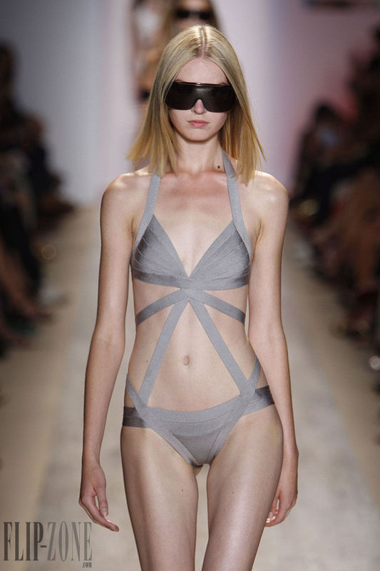 Free Shipping 2015 New Brand Sexy Swimwear for Women High Waist Grey One Piece Cut Out Bandage Swimsuit